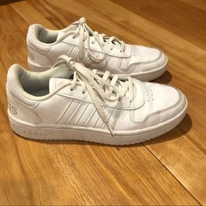 Women's Adidas White Sneakers